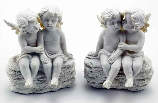 Cherub Couple Ivory Set Of 2