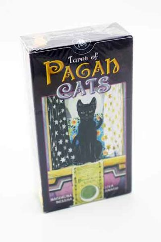 Tarot Card Pagan Cats