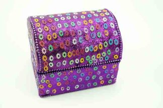 Box Chest Purple 7X10cm