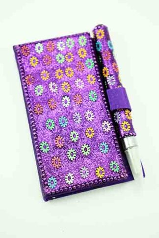 Notebook And Pen Set Purple