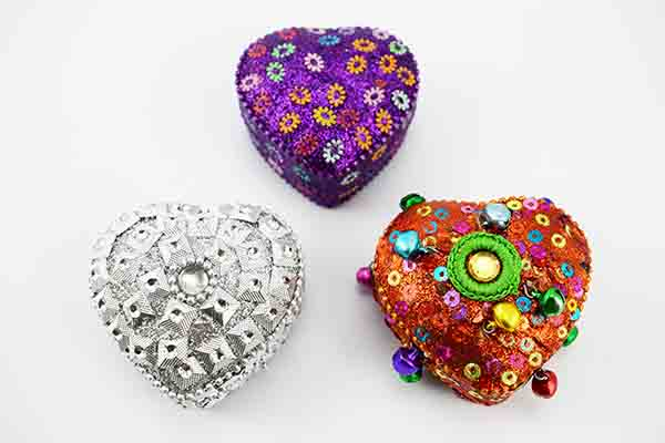 Box Heart Assorted Set of 3