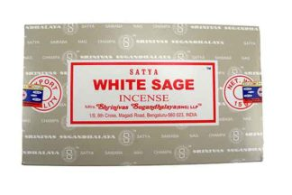 Incense Stick Satya White Sage