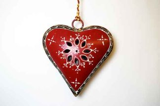 Decoration Iron Heart Cut