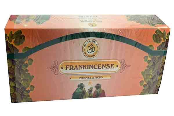 Incense Stick Frankincense 24 Packs **BUY 3 BOXES FOR £2.00 EACH