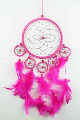 Dream Catcher Pink 12cm