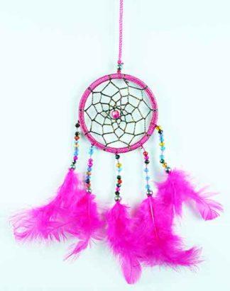 Dream Catcher Pink 6cm