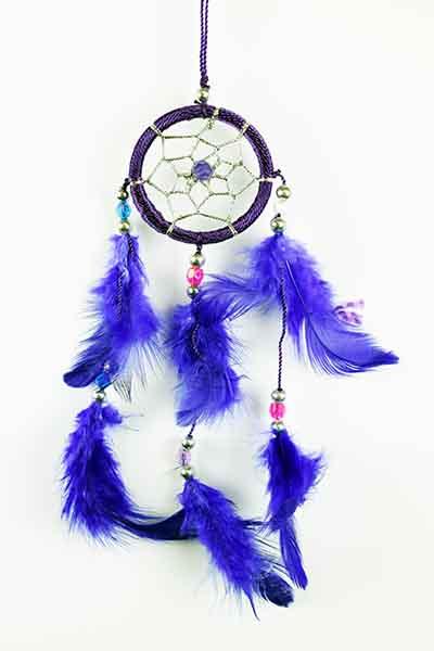 Dream Catcher Purple 5cm