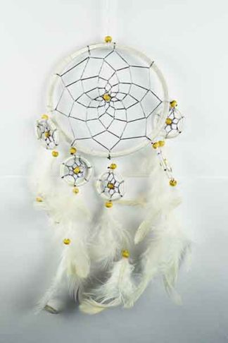 Dream Catcher White 12cm