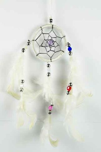 Dream Catcher White 5cm