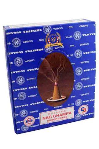 Incense Cones Nag Champa 12pcs