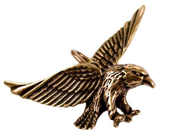 Bronze Pendant Eagle L2cm