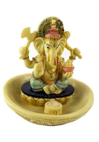 Ganesh Sitting On Base 4.5 Inch