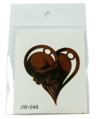 Tattoo Sticker Skull *12pcs For 5p Each*