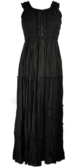 Dress long in Black 14+