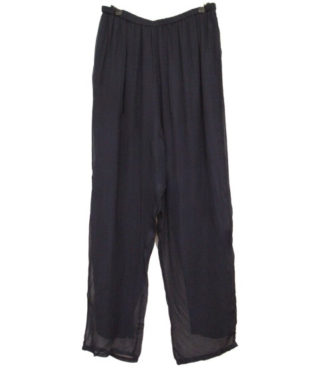 Trousers Viscose Navy size 14+