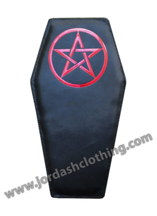 Bag Coffin PVC In Black