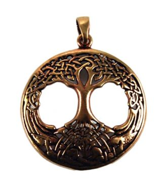 Pendant Bronze Tree Of Life