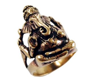 Ring Bronze Ganesh