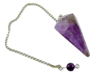 Pendulum Faceted Amethyst