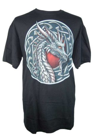 T-Shirt Medium Celtic Dragon