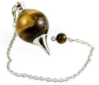 Pendulum With 25mm Ball Tiger Eye