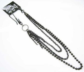 Key Chain Black With Hook