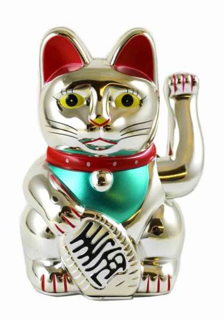 Cat Waving Hand Lucky Cat 16cm