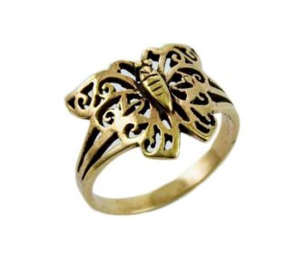 Ring Bronze Butterfly