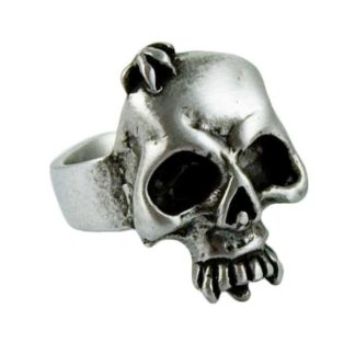 Ring Pewter Skull