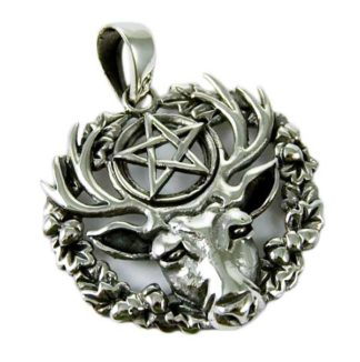 Silver Pendant Hart Of The Wild Wood