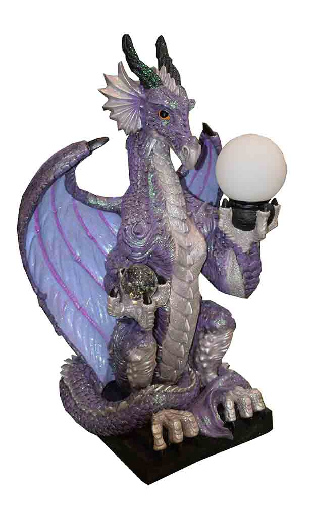Dragon Lamp Purple