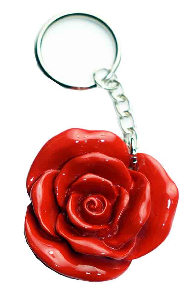 Keyring Rose *12pcs For 25p Each*