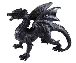 Dragon Black Standing