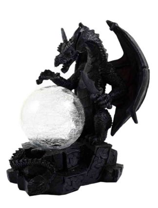 Dragon With Colour Changing Ball