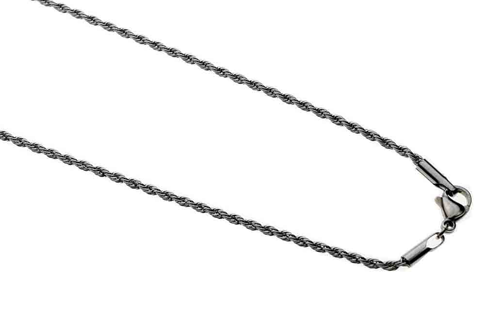 Chain Rope Cut 2mm 22 Inch