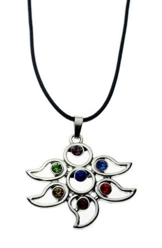 Pendant Chakra Floral Style