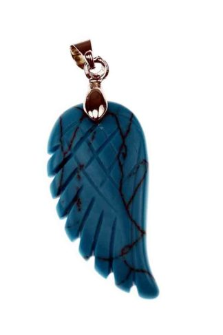 Pendant Wing Turquoise 35mm
