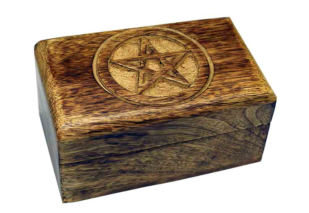 Box Carved Pentagram