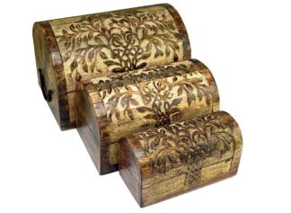 Box Chest Tree Set Of 3