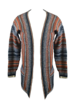 Cardigan Knitted Multi One Siz