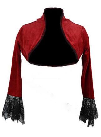 Jacket Velvet Red Size 18