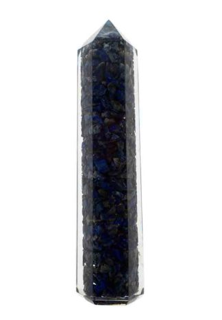 Crystal Point Orgone Lapis