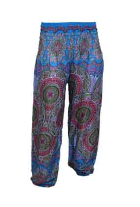 Trousers Printed Elasticated