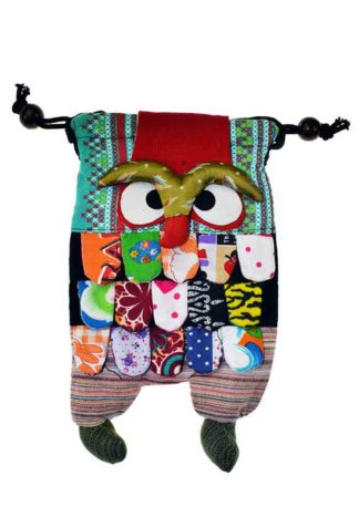 Bag Owl Double Sided L23cm