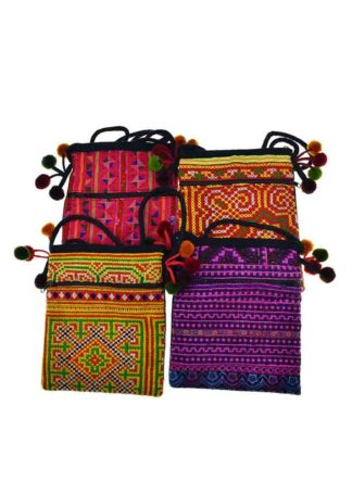Bag Passport Ethnic L21cm (1pc)