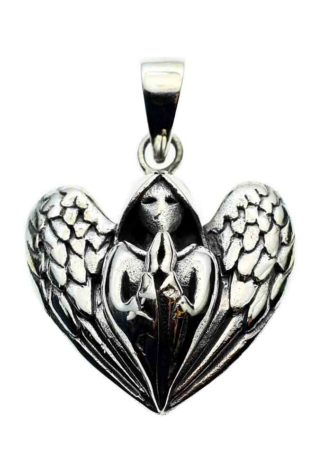 Pendant Silver Praying Angel