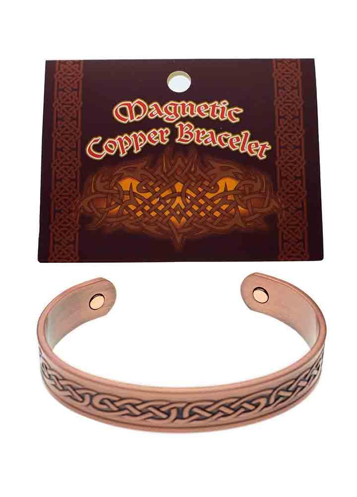 Bracelet Copper Magnetic Celtic