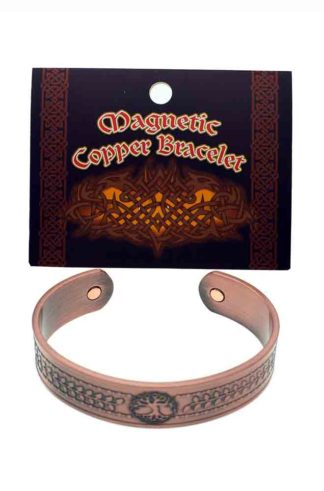 Bracelet Copper Magnetic Tree