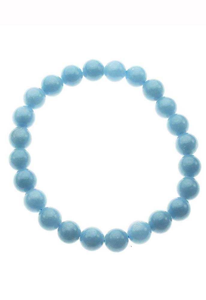 Bracelet Beaded Angelite