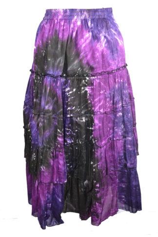 Skirt 3/4 Length Purple